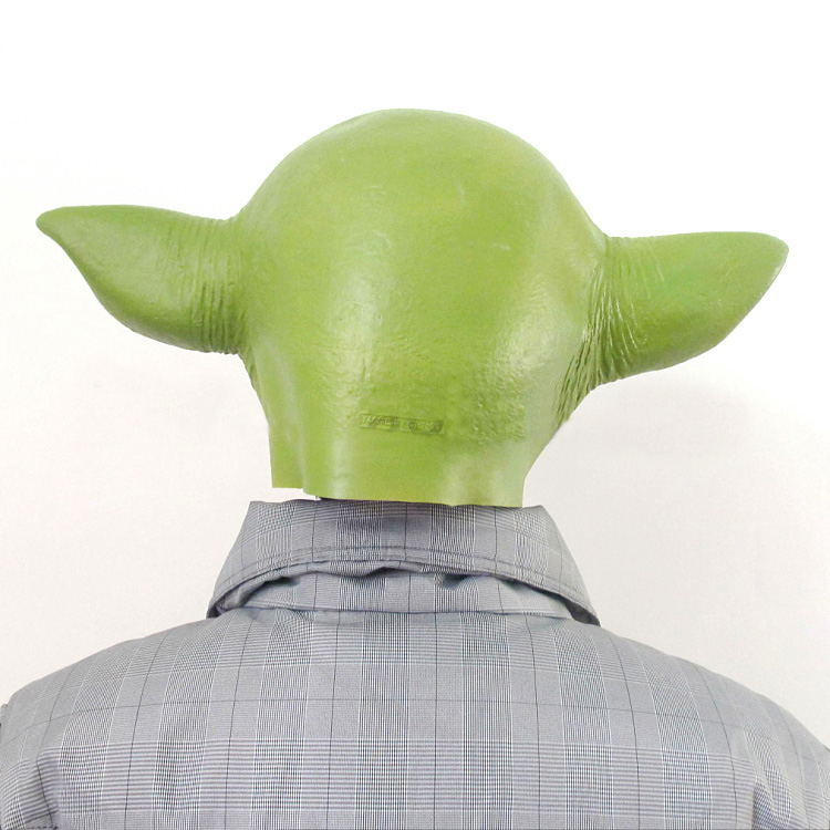 Master Yoda Cosplay Mask Full Head 5