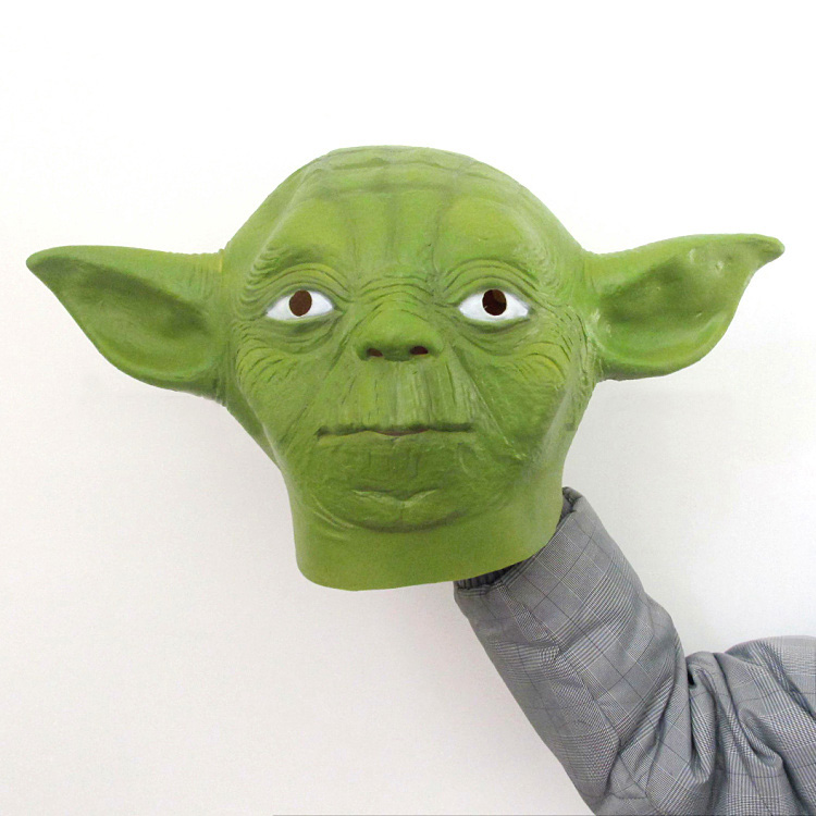 Master Yoda Cosplay Mask Full Head 1