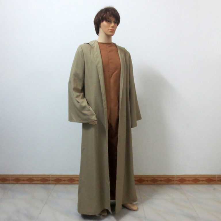 Star Wars Jedi Master Yoda Cosplay Costume 3