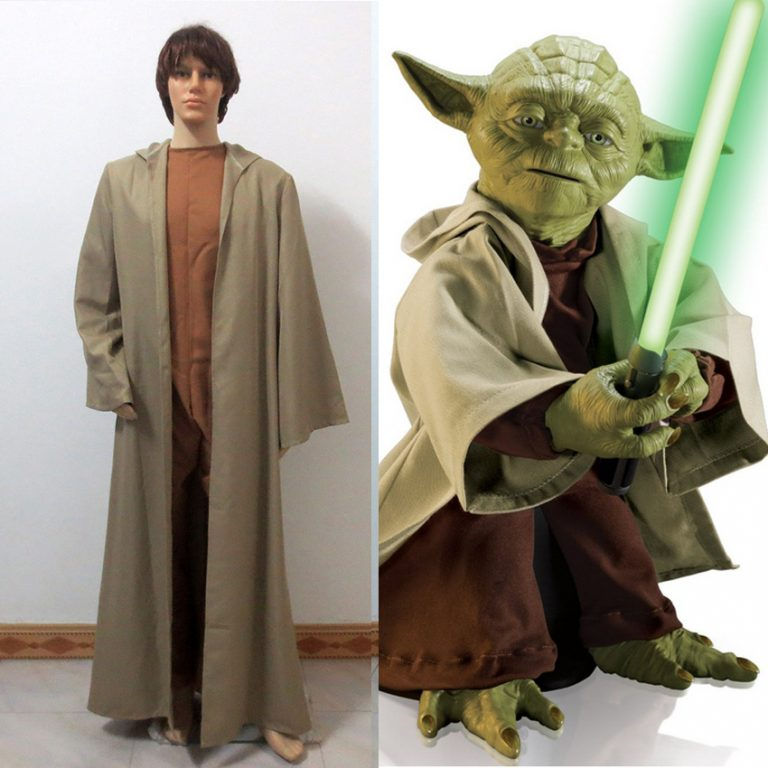 Star Wars Jedi Master Yoda Cosplay Costume 1