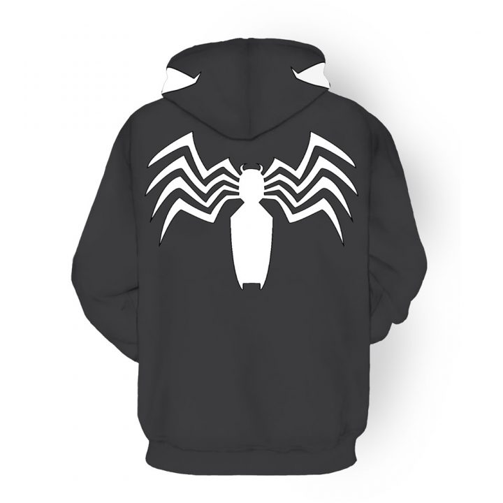 Venom 3D Printed Hoodies Cosplay 2
