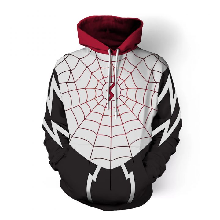 Venom 3D Printed Hoodies Cosplay 3
