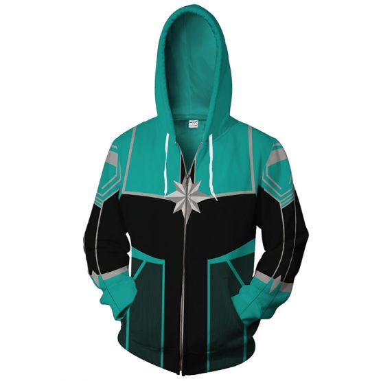 Captain Marvel Hoodie Jacket For Woman 4