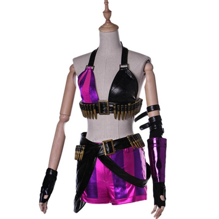 Jinx Short Sleeve Sexy Costume for women 1