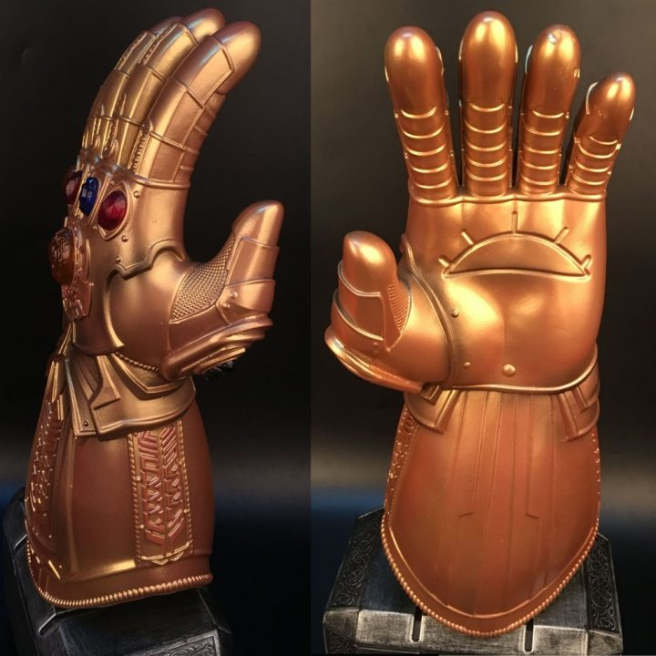 Thanos Avengers  Gauntlet LED Gloves 3