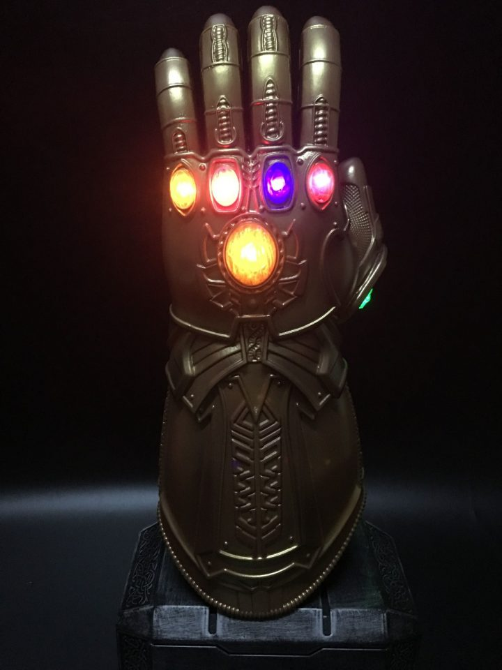 Thanos Avengers  Gauntlet LED Gloves 4
