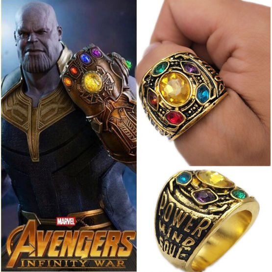 Thanos  Gauntlet Power  Alloy Ring 1