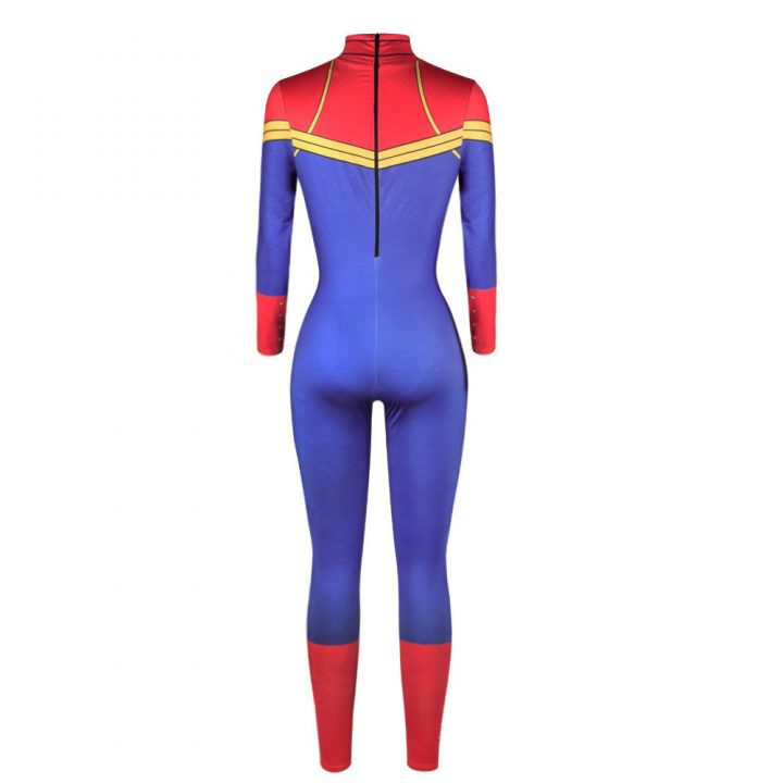 Captain Marvel Sexy Catsuit For Women 2