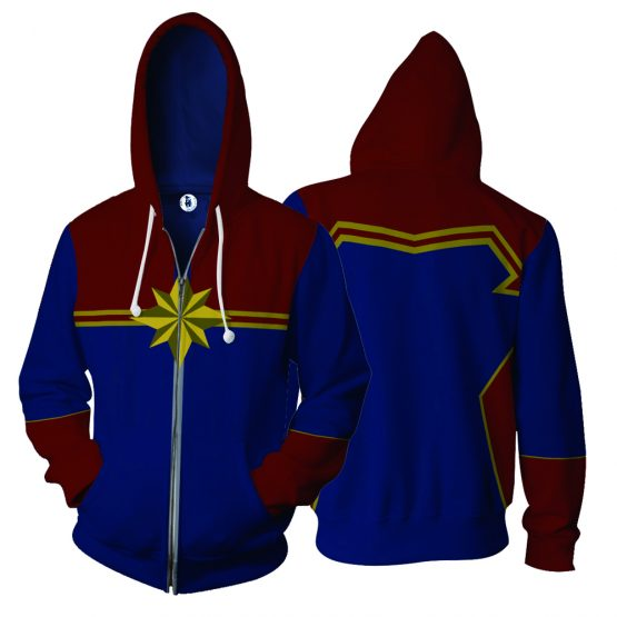 Captain Marvel  Hoodie for Men/Woman 8
