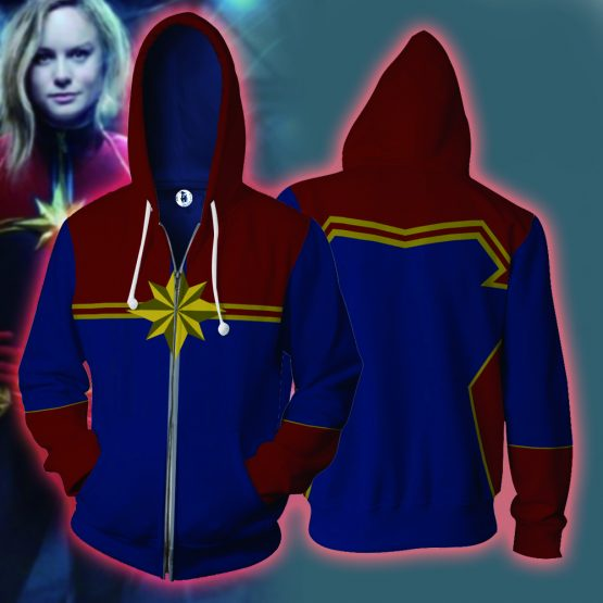Captain Marvel  Hoodie for Men/Woman 9