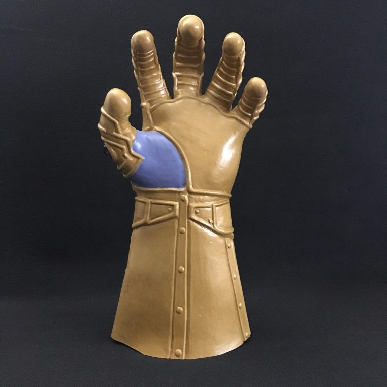 Thanos War Gloves Helmet