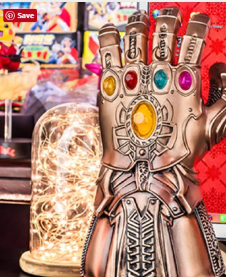 Thanos  Gloves With LED Light 1