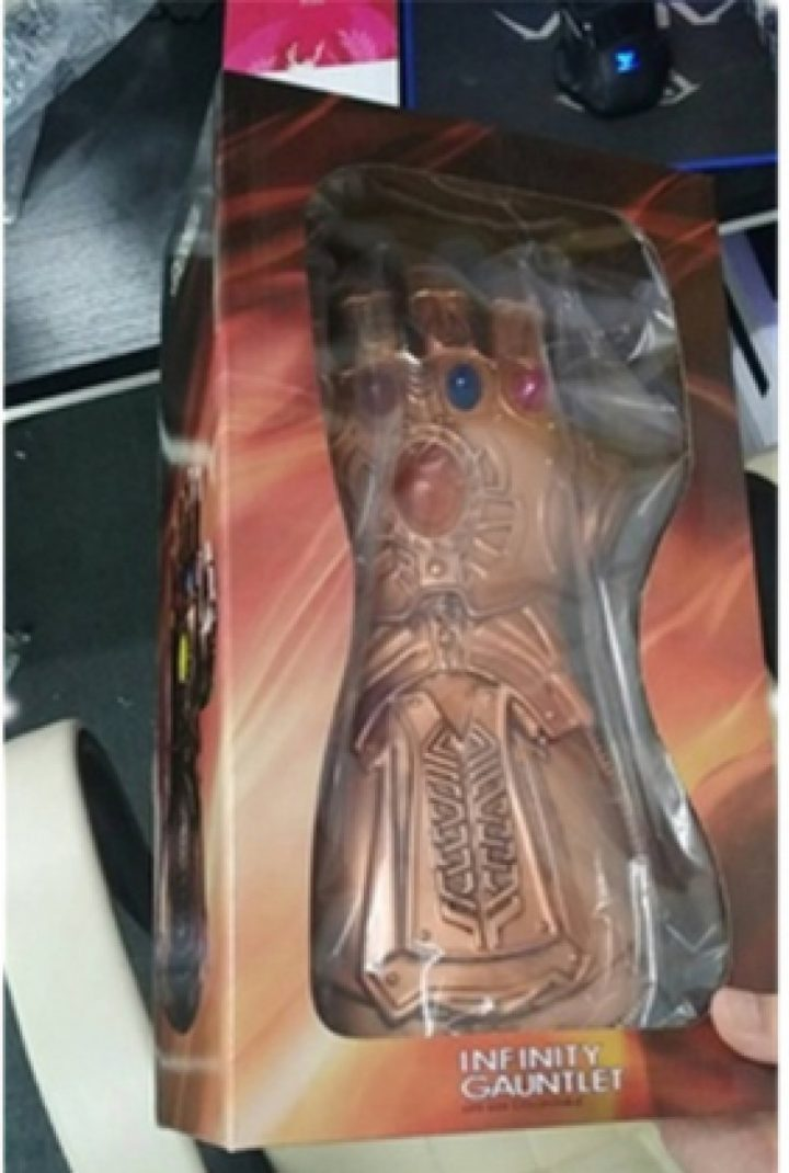 Thanos  Gloves With LED Light 3