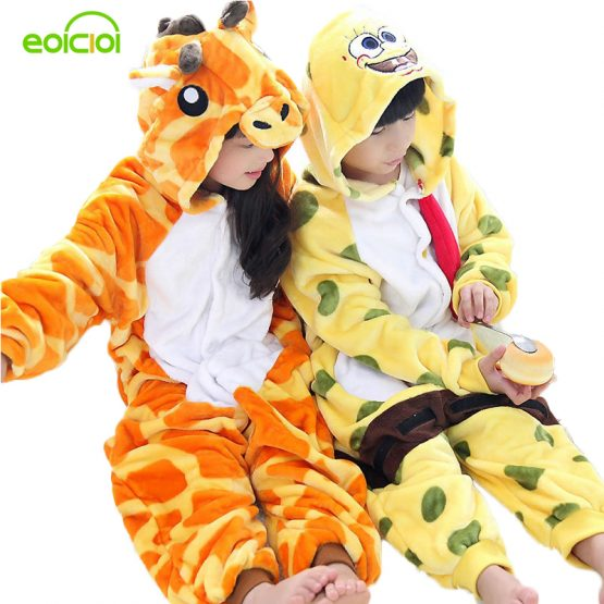 Giraffe Onesie Pajamas for Boy/Girl 2