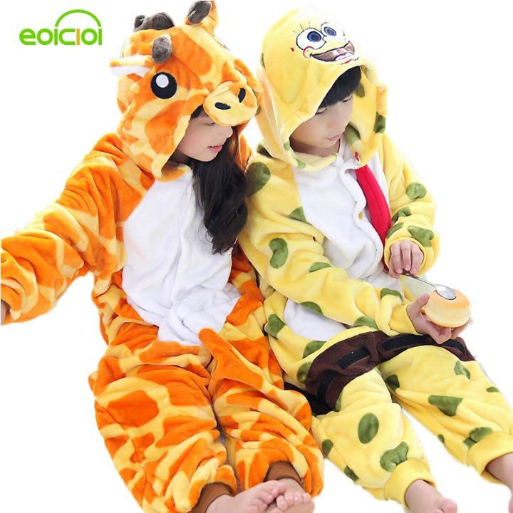 Giraffe Onesie Pajamas for Boy/Girl 1