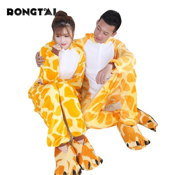 Animal Giraffe Onesie for Adults 1