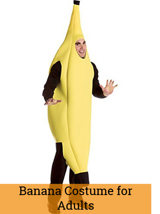 Banana Costume for Adults